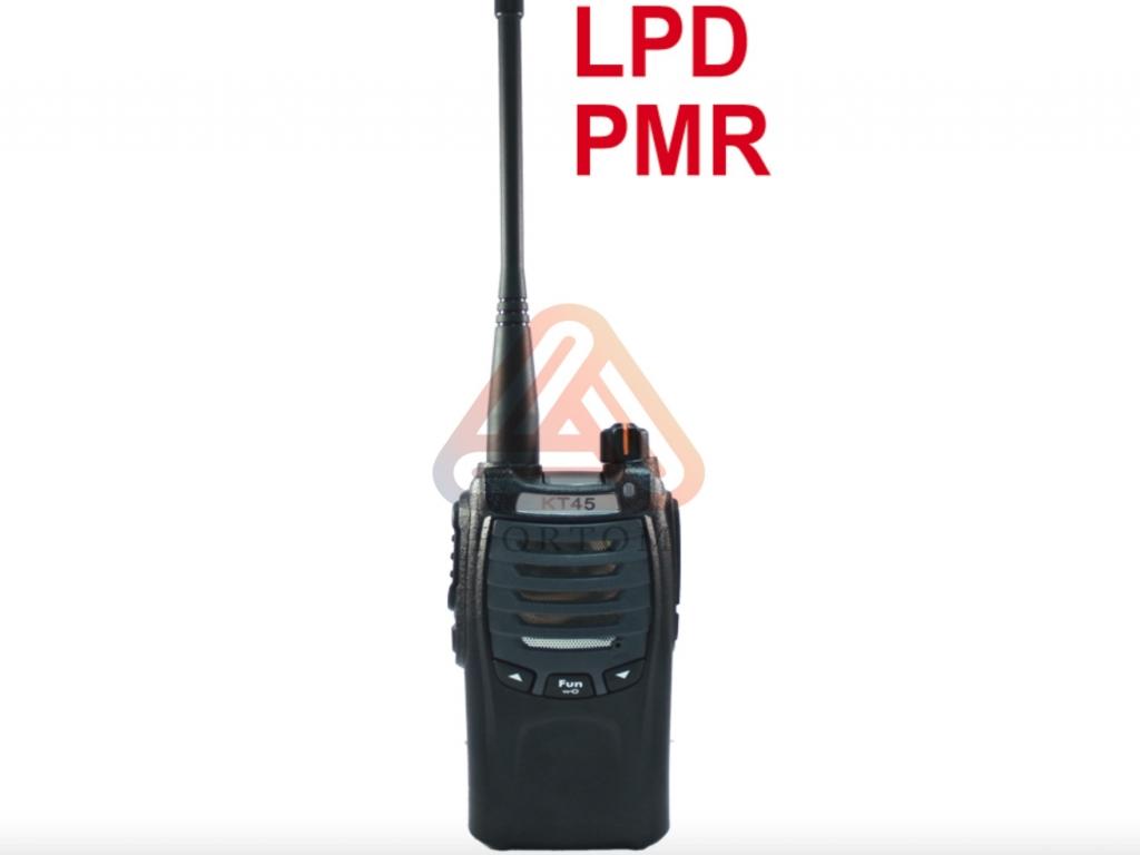 Безлицензионная радиостанция БИЗОН КТ45 LPD/PMR