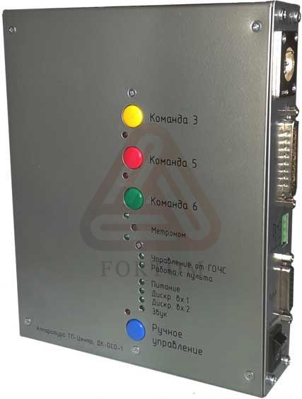 Декодер команд объектовых систем оповещения ДК-ОСО-1