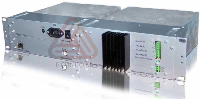 Трехпрограммный радиотрансляционный узел однозвенной сети проводного вещания