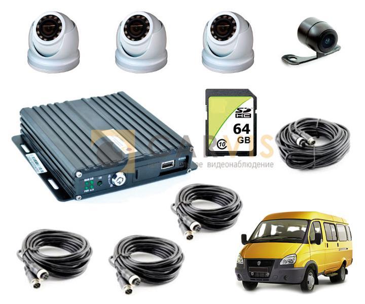 Комплект видеонаблюдения для автобусов, маршрутных такси под 969 постановление